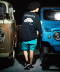 go slow caravan(ゴースローキャラバン) |【 NISSAN×go slow caravan 】USA/C SKYLINE 2000 RT-R BIG TEE (MENS)