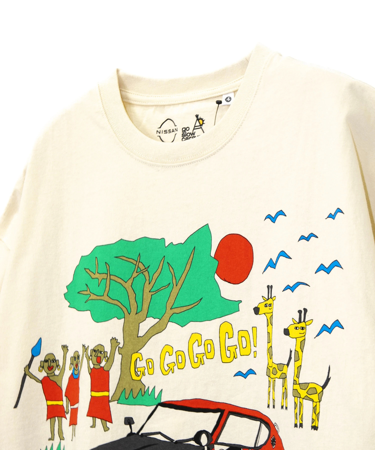 go slow caravan(ゴースローキャラバン) |【 NISSAN×go slow caravan 】USA/C FAIRLADY 240Z BIG TEE (MENS)